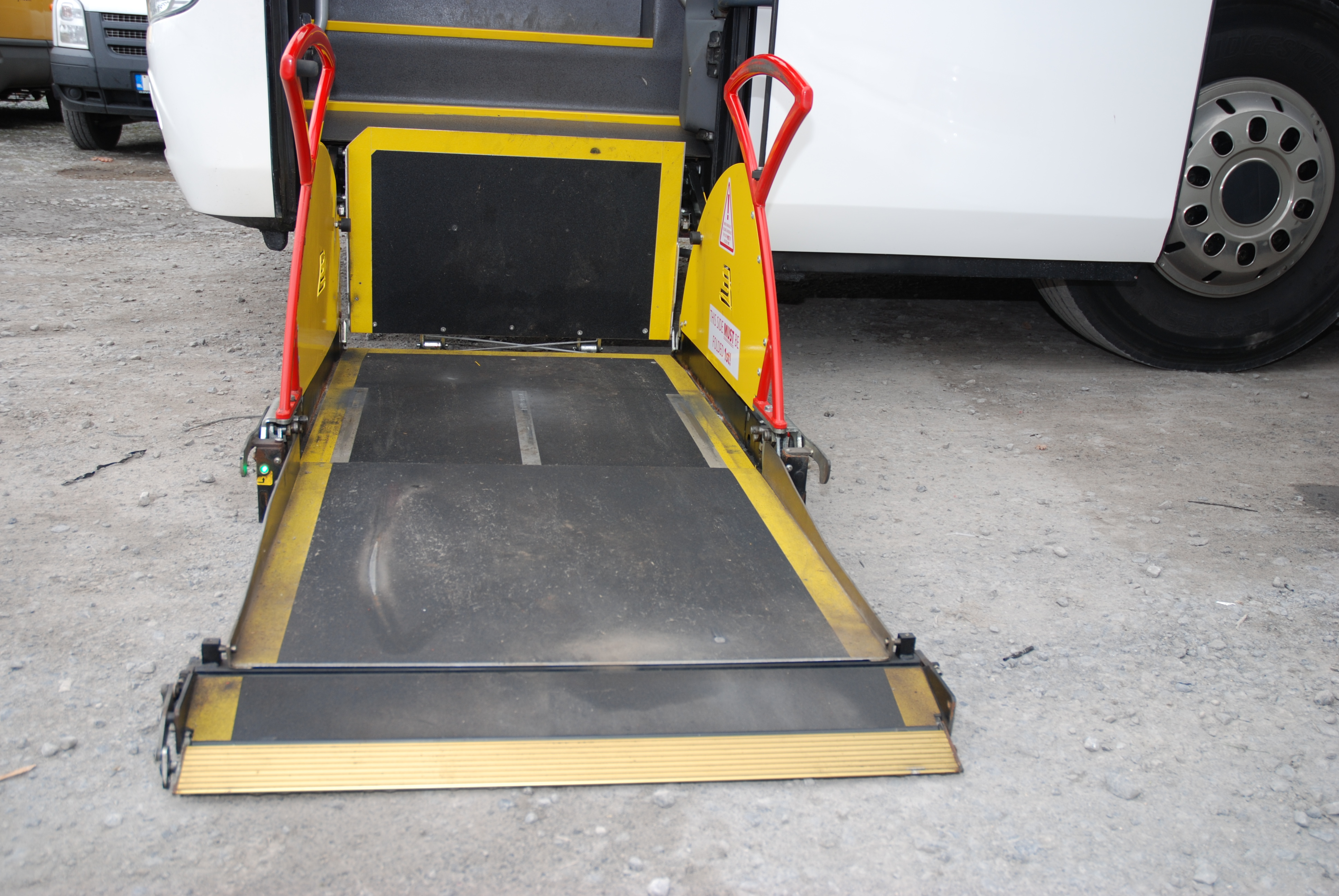 Wheelchair Accesible Coach
